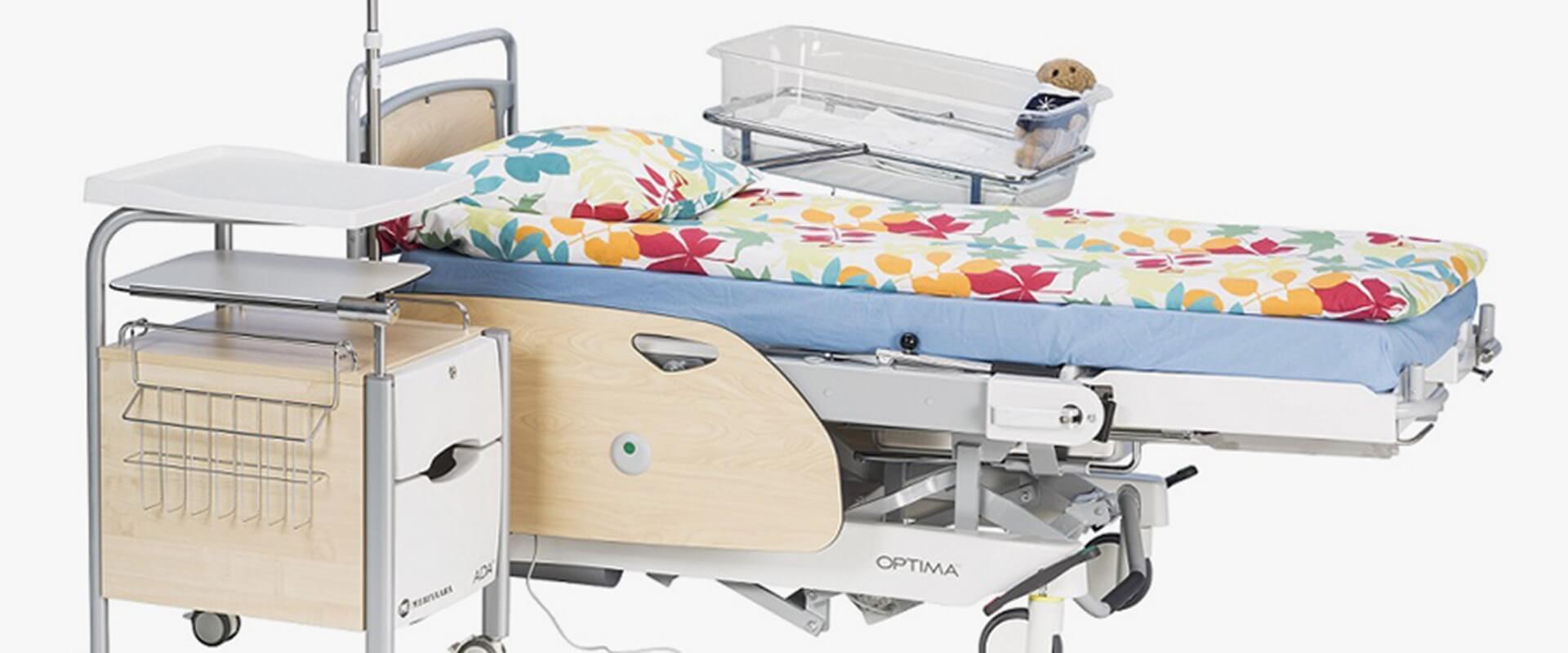 Родовая кровать Optima