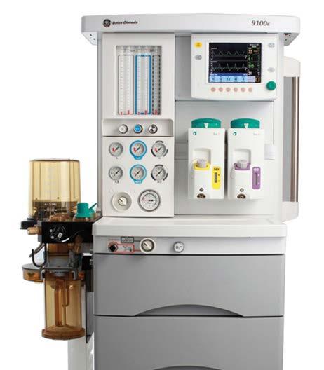 GE Аппарат наркозно-дыхательный 9100c