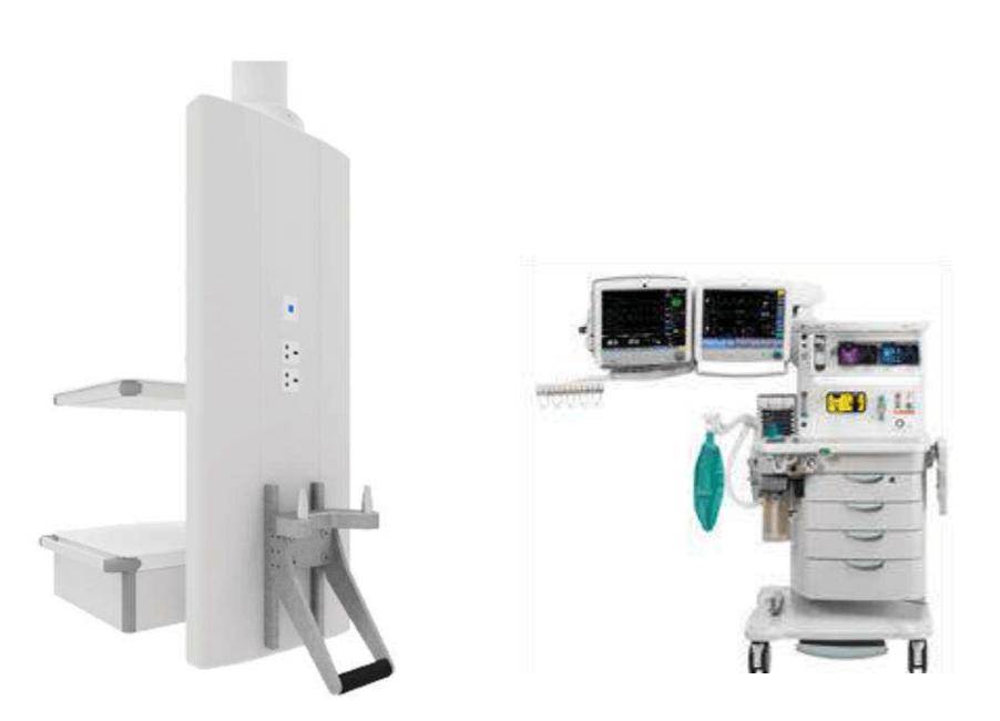 Система соединения устройств анестезии